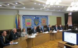 Заседание по обсуждению стратегии борьбы с онкологическими заболеваниями в Запорожской области